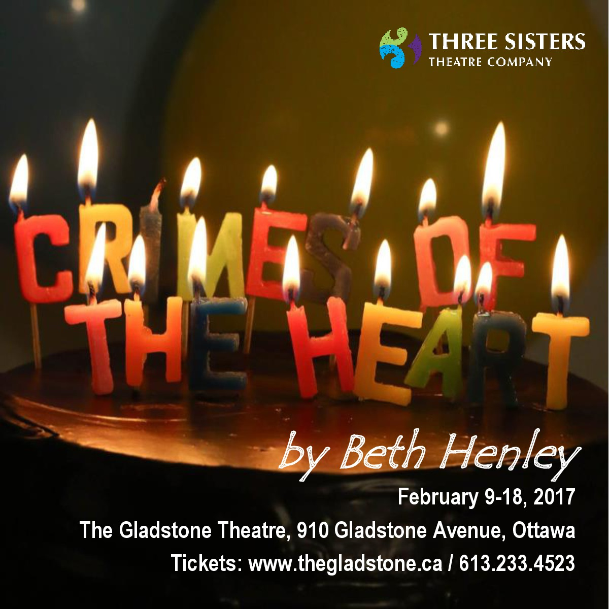 a critique of crimes of the heart a play by beth henley Stageworks theatre announces its fifth show of the 2017-2018 season, crimes of the heart, written by beth henley and directed by sam martinez the show runs march 2 through march winner of the 1981 pulitzer prize and the new york drama critics circle award warm-hearted, irreverent, zany and.